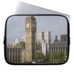 Big Ben and Thames River Laptop Sleeve