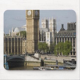 Big Ben and Thames River Mouse Pad