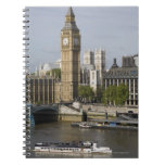 Big Ben and Thames River Notebook