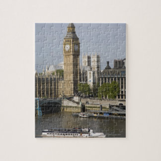 Big Ben and Thames River Puzzle