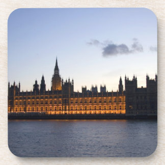 Big Ben and the Houses of Parliament in the city Beverage Coasters