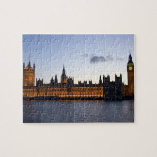 Big Ben and the Houses of Parliament in the city Jigsaw Puzzle