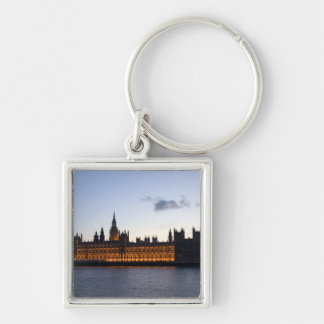 Big Ben and the Houses of Parliament in the city Keychains