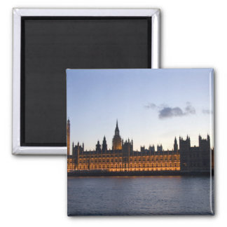 Big Ben and the Houses of Parliament in the city Refrigerator Magnets