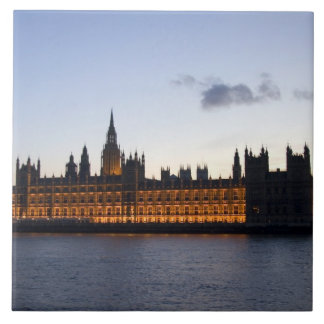 Big Ben and the Houses of Parliament in the city Ceramic Tiles