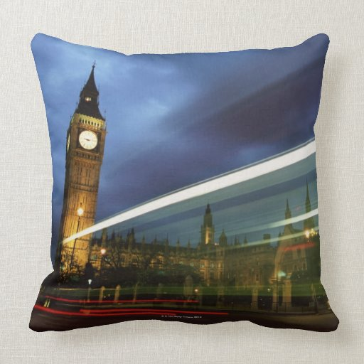 Big Ben and the Houses of Parliament Pillow