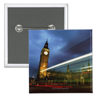 Big Ben and the Houses of Parliament Pinback Button