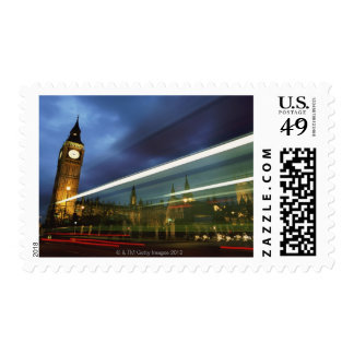Big Ben and the Houses of Parliament Stamp