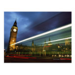 Big Ben and the Houses of Parliament Postcard