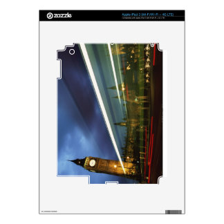 Big Ben and the Houses of Parliament Decals For iPad 3