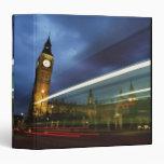 Big Ben and the Houses of Parliament Vinyl Binder