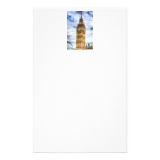 Big Ben And The London Eye Custom Stationery