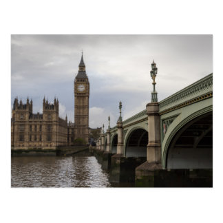 Big Ben and Westminster Bridge Postcard