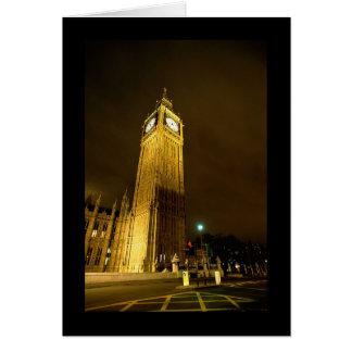 Big Ben At Night Greeting Cards