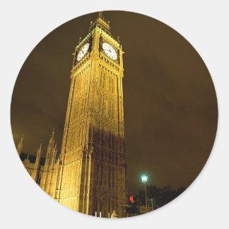 Big Ben At Night Sticker