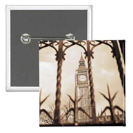 Big Ben at Parliament, London Pinback Buttons