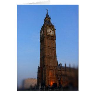 Big Ben at Sunset - London - Greeting Card