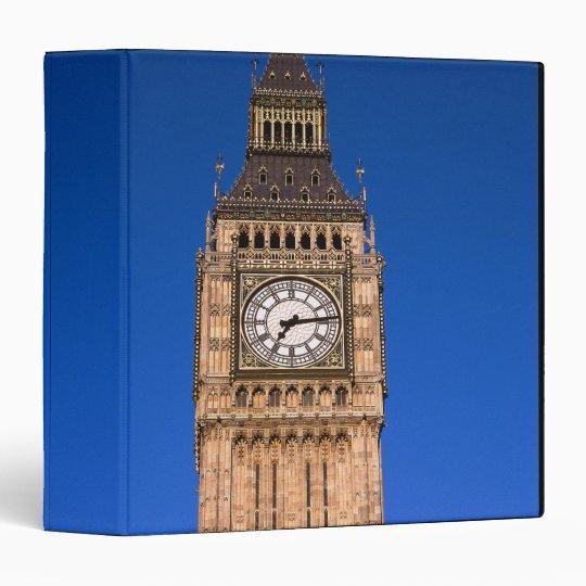 Big Ben at the British Capital 3 Ring Binder