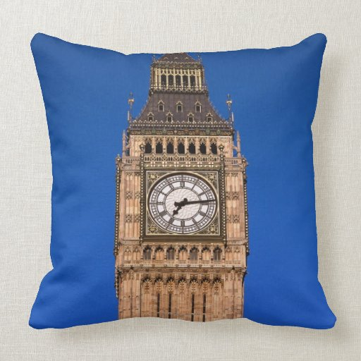 Big Ben at the British Capital Pillow