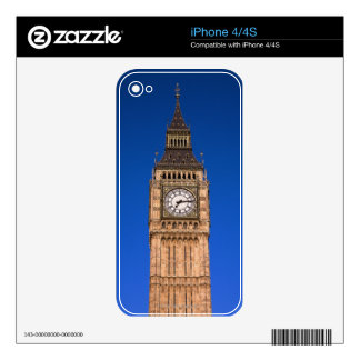 Big Ben at the British Capital Skin For The iPhone 4S