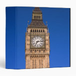 Big Ben at the British Capital Vinyl Binders
