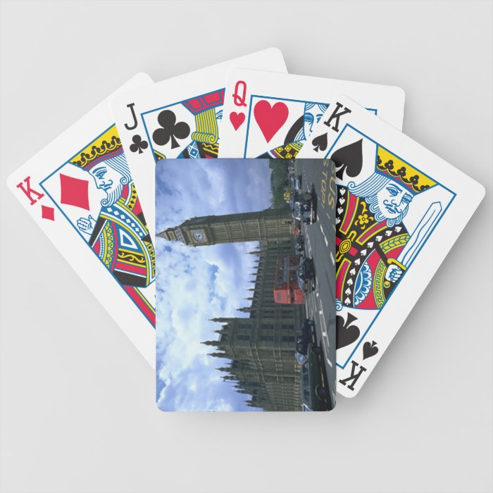 Big Ben Bicycle Playing Cards