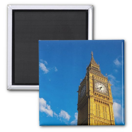 Big Ben Blue Sky Magnet