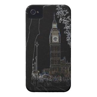Big Ben brilla intensamente caso del iphone 4 Carcasa Para iPhone 4 De Case-Mate