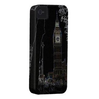 Big Ben brilla intensamente cubierta intrépida de Funda Para iPhone 4