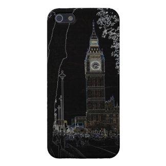 Big Ben brilla intensamente iPhone 5 Carcasas