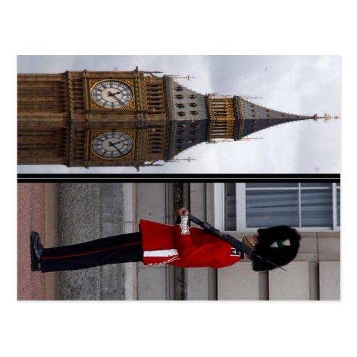 Big Ben/Buckingham Tarjetas Postales