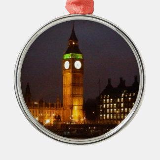 Big Ben by night Metal Ornament