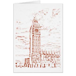 Big Ben Card