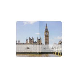 Big Ben, casas del parlamento, Londres Reino Unido Funda Para Libreta Y Libreta Pequeña Moleskine