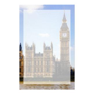 Big Ben, casas del parlamento, Londres Reino Unido Personalized Stationery