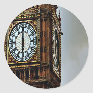 Big Ben Classic Round Sticker
