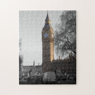 Big Ben clock in London England Puzzle