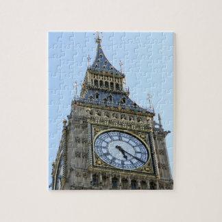 Big Ben Clock in London, England United Kingdom Jigsaw Puzzles