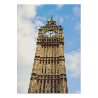 Big Ben clock, London Large Business Cards (Pack Of 100)