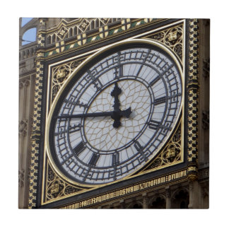 Big Ben Clock Tower Ceramic Tile