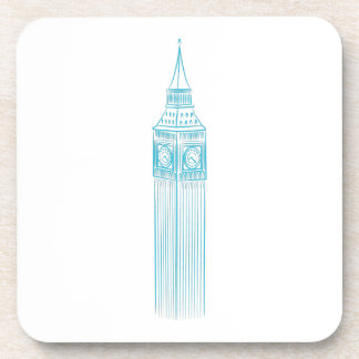 Big Ben Clock Tower Landmark Coaster