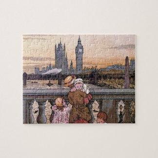 """Big Ben Clock Tower, London"" Jigsaw Puzzle"