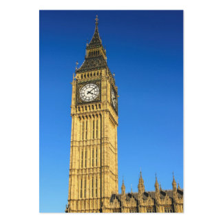 Big Ben clock tower, London Large Business Cards (Pack Of 100)