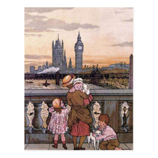 """Big Ben Clock Tower, London"" Postcard"