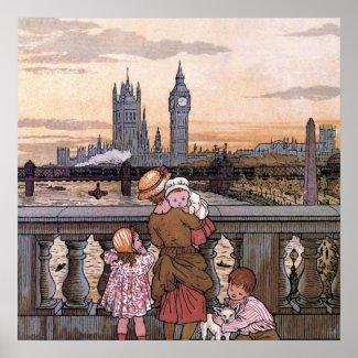 """Big Ben Clock Tower, London"" Poster"