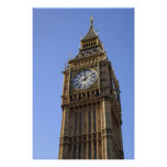 Big Ben Clock Tower London Poster