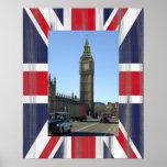 Big Ben Clock Tower London Poster Print