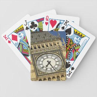 Big Ben Clockface Baraja Cartas De Poker