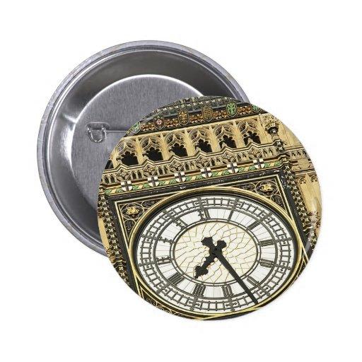 Big Ben Clockface Pin