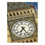 Big Ben Clockface Postales